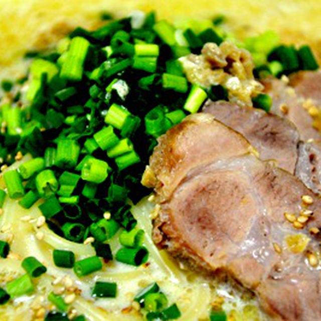 生姜と味噌の豆乳スープパスタ