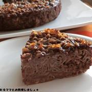 簡単★チョコレートのパスタケーキ