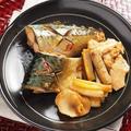 鯖の煮付け 、 フライパンで作る煮魚、落し蓋はアルミホイル