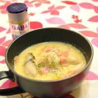 牡蠣と里芋のチャウダー&明けまして おめでとうございます(*^_^*)