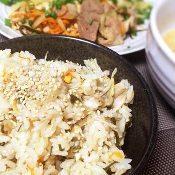 【ウチごはん:009】旨味たっぷりのアサリの炊き込みご飯