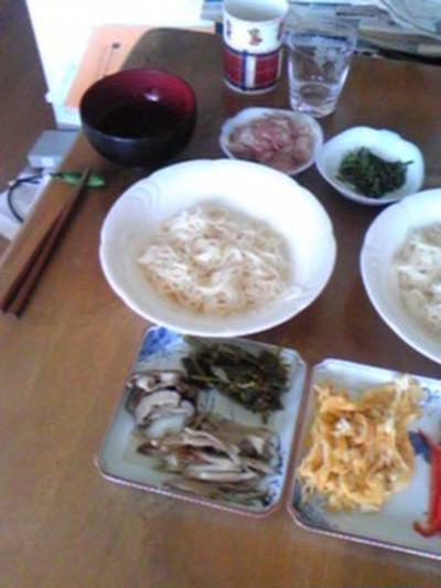 ひんやり具だくさん素麺