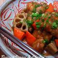 和ごはん☆鶏肉と根菜のうま煮
