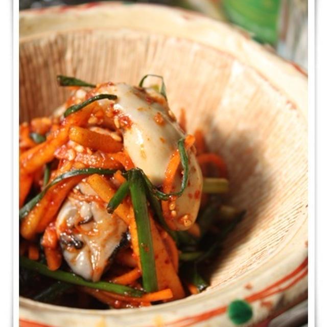 牡蠣のムチム