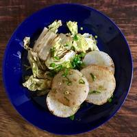 大根と白菜の焼きサラダ