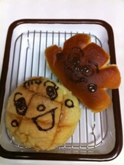 メロンパンナちゃんとクリームパンダパン