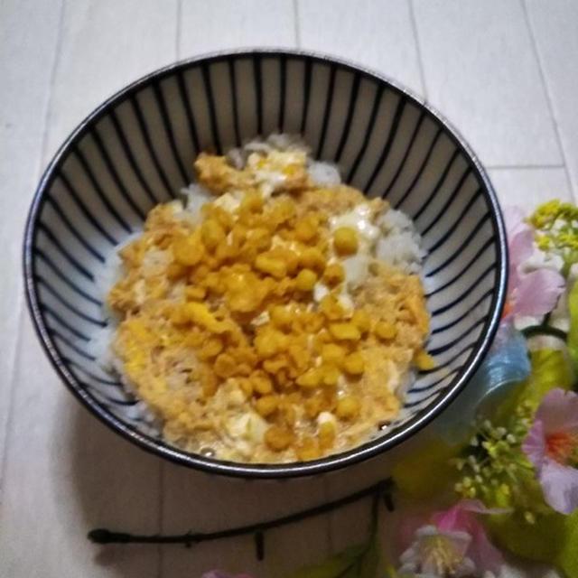 お料理レシピ★簡単すぎる☆旨すぎる☆天かす丼★(笑)
