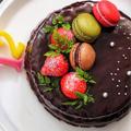 ありがとうございます*次男12歳の誕生日のチョコレートケーキ