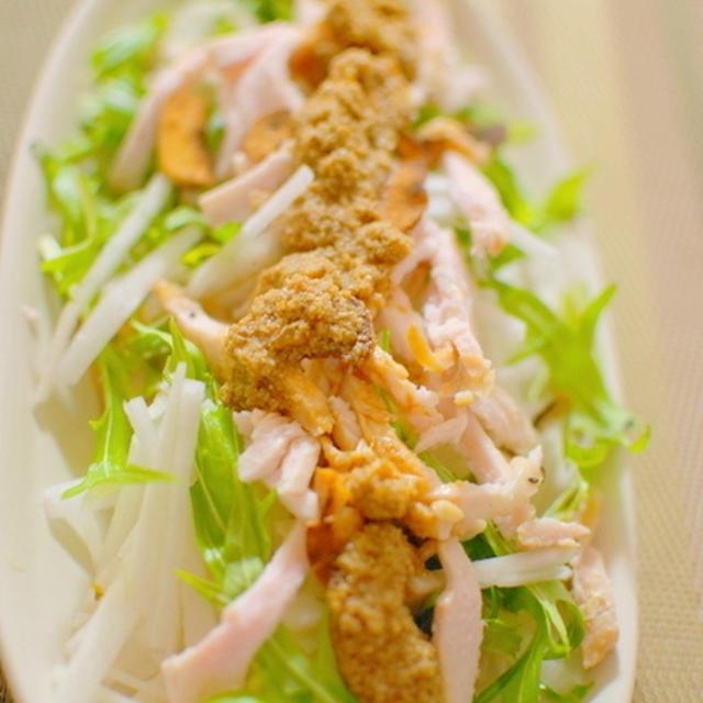 大根棒棒鶏サラダ
