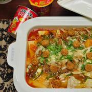 《ラーメン丸のチーズキムチ鍋》