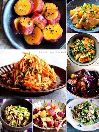 ♡おかず・おつまみ・お弁当に♡使える副菜レシピ集♡【#簡単#時短#節約#作り置き】