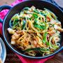 ♡豚ニラもやしのフライパン蒸し♡【#節約#時短#簡単レシピ#豚肉#コスパ】