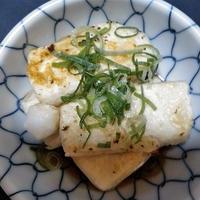 スペースパンで揚げ出し豆腐