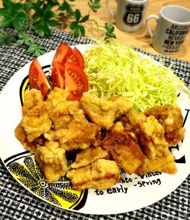 6. こうや豆腐の唐揚げ
