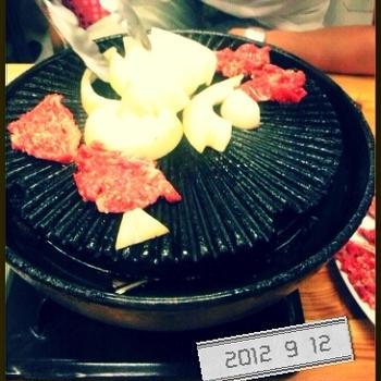 焼き肉ぅ~♪
