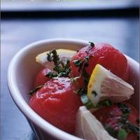 プチトマトの冷やし甘酢。<夏野菜レシピ>