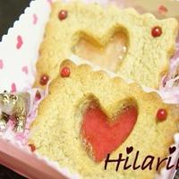 GABANスパイスでワンランク上のバレンタインスイーツ☆紅茶のでこぽんビスケット♪♪