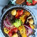 エルブ・ド・プロバンス香るベジタブルチーズ焼き 簡単 トースターでほっとくだけ - スパイス大使 - と 食卓コーデによく登場する卵の殻キャンドルのコト by 青山 金魚さん