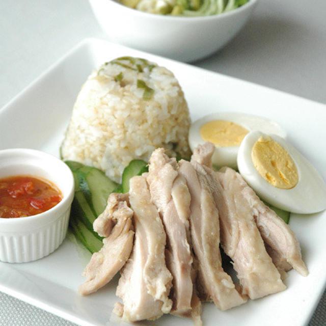 鶏飯プレート
