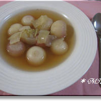 簡単でとびきり美味しい『蕪のスープ』