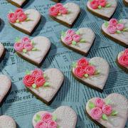「いつもありがとう~★お疲れ様バレンタイン~♪2018」で作ることができたアイシングクッキーたちの第2陣、第3陣目で製作した作品と第4陣目で製作した作品を比較してみると。。。