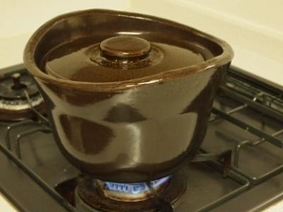 無印良品 「土鍋おこげ」で 簡単炊飯