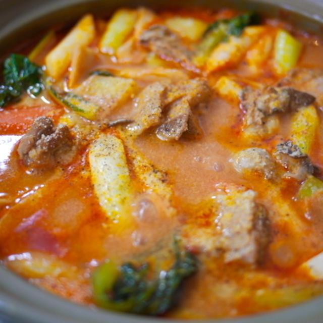 豆乳トマト鍋