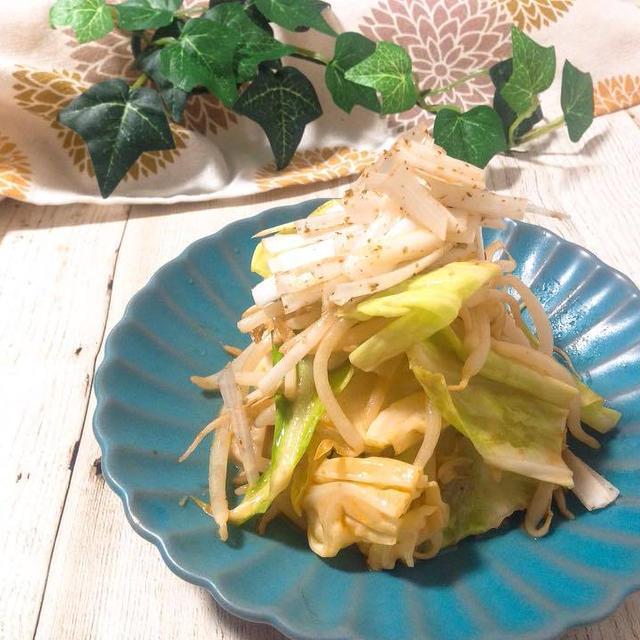 時短レシピ【もやし&キャベツの大量消費に✨ ほったらかしで!坦々風野菜蒸し】