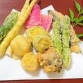 薬膳ってなぁに?今日は健康運の天ぷらがラッキー、根気プラスのマッシュポテトの天ぷらで薬膳!