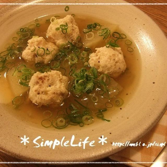 ヒーハー☆とうがんと鶏のスープ