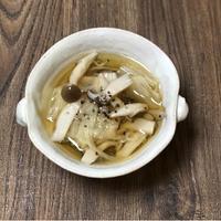 白菜ときのこのスープ