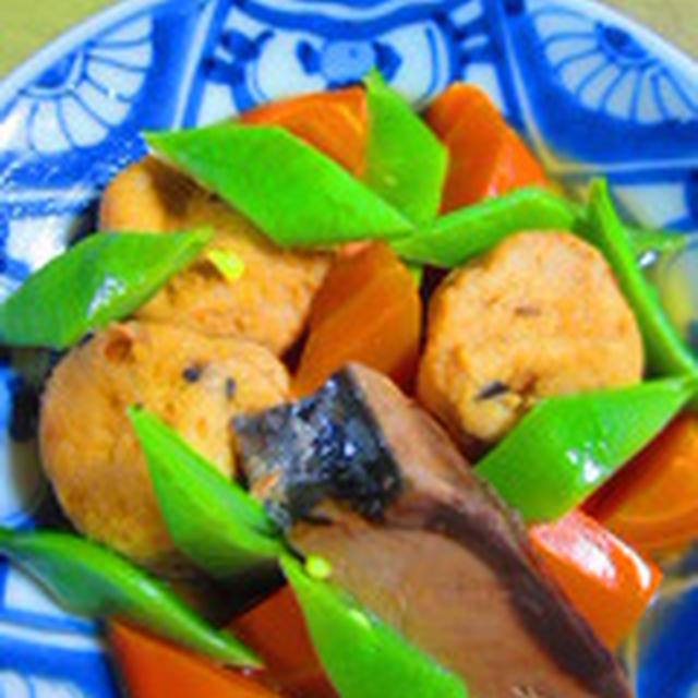 「生利節とひろすとモロッコ豆の煮物」