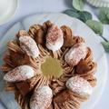 紅茶×マロン!秋のデコレーションシフォンケーキ