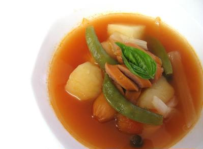 『野菜ごろごろトマトスープ』
