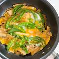 【たけのこレシピ】たけのことスナップエンドウの卵とじ / 紅茶のシフォンケーキ作り by tomoさん