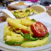 ☆カレーパウダーでマカロニホットサラダ☆