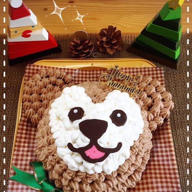 「違うぅ~!」と言われても…の'ダッフィー♥ケーキ'