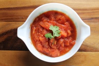 ごろごろトマトの、トマトソース