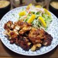 【家ごはん/献立】 豚小間とニンニクのかき揚げ [レシピ] by こぶたさん