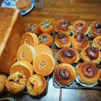 久しぶりのパン作り😊