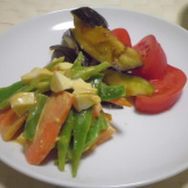 ルクエでレンチンカレー茄子