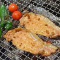 『豚肉スライスのニンニク焼き』の炭火焼 by 炭火グルメだんらんさん
