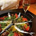 秋刀魚のカレーパエリア