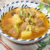 牛肉と大根のカレースープ煮