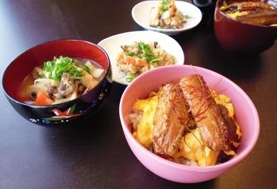 秋刀魚缶deミニ丼
