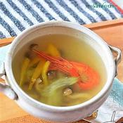 ナンプラーミックスとカレーパウダーで作るスープ♪