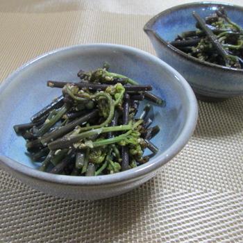 お久しぶりの山菜料理☆わらびの和風ナムル