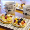 【うちレシピ】フルーツタルト風パンケーキ / 【参加中】フーディストアワード2019レシピ&フォトコンテスト