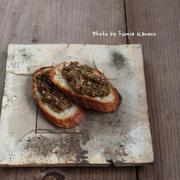 ふみえ食堂のとっておきレシピ  Vol. 157 ふきのとうのオイルみそディップ