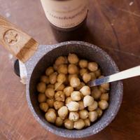 新手鍋とひよこ豆